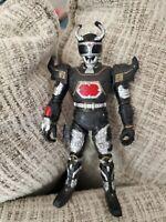 Rare Bad Beetle Borg Shadow Borg Black Silver Action Figure 1996 Bandi