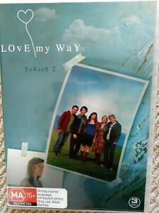 Love My Way : Series Season 2 DVD 3-Disc Set Reg4 VGC Fast FREE Postage
