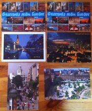 Lot of 6 European Postcards