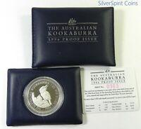 1996 KOOKABURRA PROOF SILVER Coin in Wallet