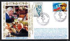 2010-Fdc-Hommage de Scorbe-clairveaux-De Gaulle -Timbre.Yt.1851/2944