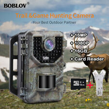 16GB 16MP Trail & Game Hunting Camera 120°Angle Farm Camera + 4 in 1 Card Reader