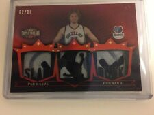 #2/18 (ONLY 18) 2007-08 TOPPS TRIPLE THREADS LOGO JERSEY PATCH (1/1?) PAU GASOL