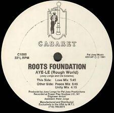 Roots Foundation - Aye-Le (Rough World) - 1991 - Cabaret - C1000 - Usa