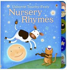 Usborne Touchy-Feely Nursery Rhymes Luxury Touchy-Feely Board Books