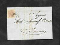 Lombardo Veneto bella lettera con 30 cent n.9 da Milano a Parma