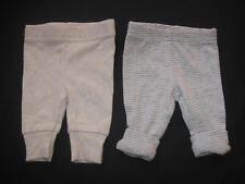 Precious Firsts Carter Baby Boy Girl Unisex Neutral PREEMIE Gray Pant Lot Reborn