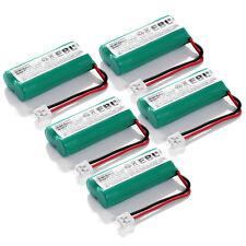 5x Cordless Home Phone Battery Fr AT&T LUCENT BT18433 BT28433 Uniden BT-1011/101