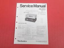 Technics RS-M24 org. Service Anleitung Manual