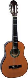 Gitarre,1/4 Grösse- kinder, jugend, wander,  Modell K2 in natur, mit Endknopf!n