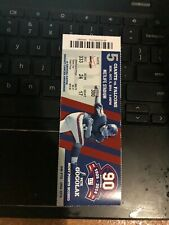 2014 NEW YORK GIANTS VS FALCONS FOOTBALL TICKET STUB 10/5 ODELL BECKHAM JR DEBUT