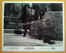 8x10 Photo~ THE PIED PIPER ~1972 ~Actor Roy Kinnear w rats ~Burgermaster