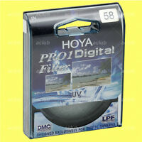 Genuine Hoya 58mm Pro1D Digital UV Filter
