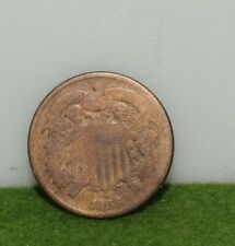 1865 2 cent piece US type coin