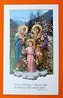 SANTINO SACRA FAMIGLIA IMAGE PIEUSE - HOLY CARD- Heiligenbild