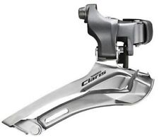 Shimano Claris Fd-2400 Road Bike Double Front Derailleur-clamp on