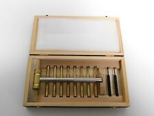 Vintage Gunsmith Firearm Maintenance Repair Tool Set in Wood Box Ex. Condition