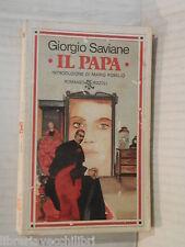 IL PAPA Giorgio Saviane Mario Pomilio Rizzoli BUR 50 1980 romanzo libro racconto