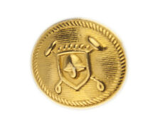Org Ralph Lauren Polo University gold color metal Replacement jacket button .80""