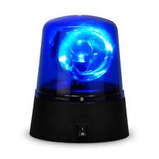 Novelty Party Disco Battery Operated Rotating Blue LED Police Siren Flashing Lig
