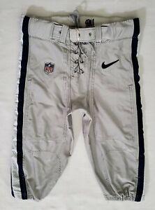 #56 of Dallas Cowboys Locker Room Player Worn Silver Football Pants - 36 Short
