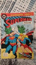 SUPERMAN POCHE tome 100 - TRES RARE A TROUVER - avec supergirl