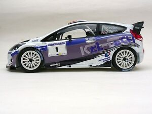 1:18 scale CRAIG BREEN FORD FIESTA WRC RAVENS ROCK RALLY 2014 code3 rally model
