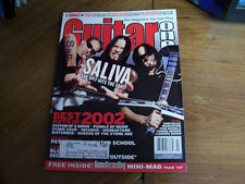 Guitar One Magazine-February 2003-Saliva (cover)-vgc