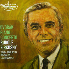 CD Dvorak-piano concerto, Rudolf Firkusny