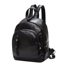 Women Girls Mini Faux Leather Travel Handbag Lot Backpack Rucksack School Bag