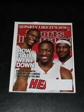 How it all went down Wade Bosh Lebron Sports Illustrated JULY 19,2010 Magazine