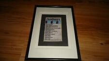 GRANDADDY 2001 tour-Framed original advert