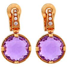 Bvlgari Parentesi 18K Rose Gold Earrings 344857