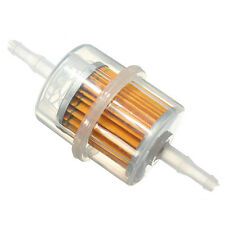 """Universal Car Large Inner Inline Fuel Filters Petrol 6mm 8mm 1/4"""" 1/3"""" Pipe Hose"""