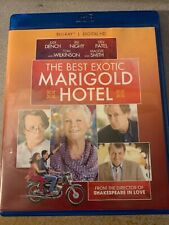 The Best Exotic Marigold Hotel Blu-Ray Used