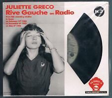 JULIETTE GRECO RIVE GOUCHE ON RADIO CD F.C. NUOVO!!!