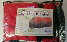 "Tough 1 Xxx Large 600 Denier Waterproof Poly Dog Blanket - Red 43""-49"""