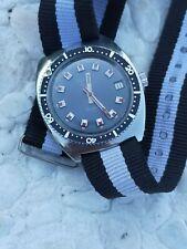 Duward Aquastar Continual 100m Date Mens Vintage Watch