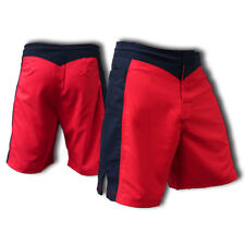 Blank Red And Black Fight Shorts - Size 32