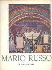CARANDENTE Giovanni: Mario Russo. De Luca 1958. Con 29 tavole a colori e b/n