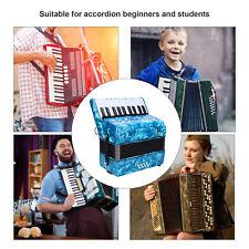 Ziehharmonika 22 keys 8 Bass Akkordeon keyboard Schifferklavier Musik Anfänger