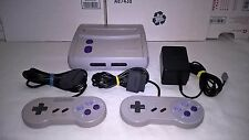 SUPER NINTENDO ENTERTAINMENT SYSTEM MINI CONSOLE WITH 2 CONTROLLERS,POWER CABLE