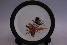 Hornsea Pottery Plate with Flying Pair of Phesants.