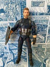 Marvel Legends Hasbro Thanos BAF Series Captain America Action Figure (H)