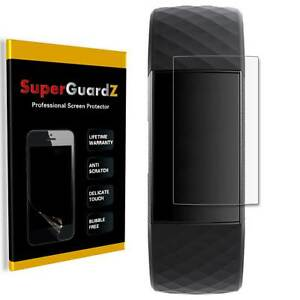 SuperGuardZ Clear FULL COVER Screen Protector Guard Film For Fitbit Charge 4 / 3
