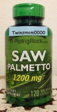 Saw Palmetto 1200mg 120 Capsules Prostate/Urinary Health Piping Rock