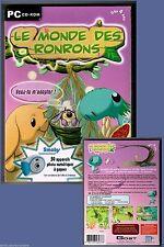 LE MONDE DES RONRONS - Jeux PC - Dès 4 ans - Neuf sous blister.