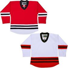 Chicago Blackhawks Hockey Jersey NHL Style Replica   No Logo  DJ300
