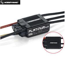 Original HobbyWing Platinum PRO V4 60A ESC (3S-6S) for 450-480 Class Heli