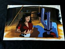 Cadillacs and Dinosaurs Production Hannah Dundee Cel & Painted Background